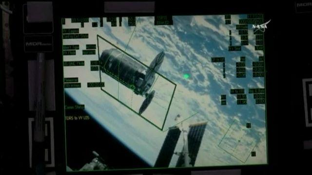 VIDEO. La capsule Cygnus est arrivée à la Station spatiale internationale