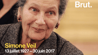 Loi sur l'IVG, parité dans la vie politique, première présidente du Parlement européen... Retour sur la vie de Simone Veil. (Brut)