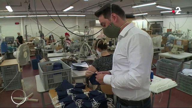 Masques obligatoires : les fabricants français accumulent les invendus