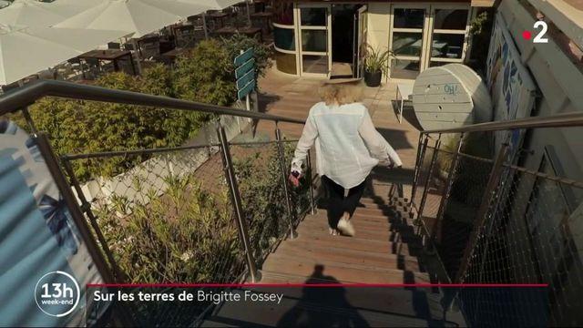 Alpes-Maritimes : sur les terres de Brigitte Fossey