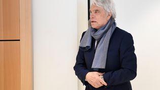 Bernard Tapie, au tribunal de Paris, le 4 avril 2019. (BERTRAND GUAY / AFP)