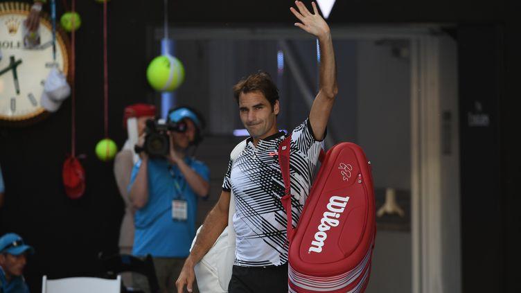 Le joueur suisse Roger Federer (SAEED KHAN / AFP)