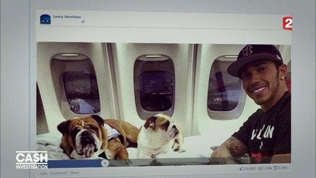 """""""Paradise Papers"""" : comment Lewis Hamilton s'est offert un jet privé sans payer la TVA"""