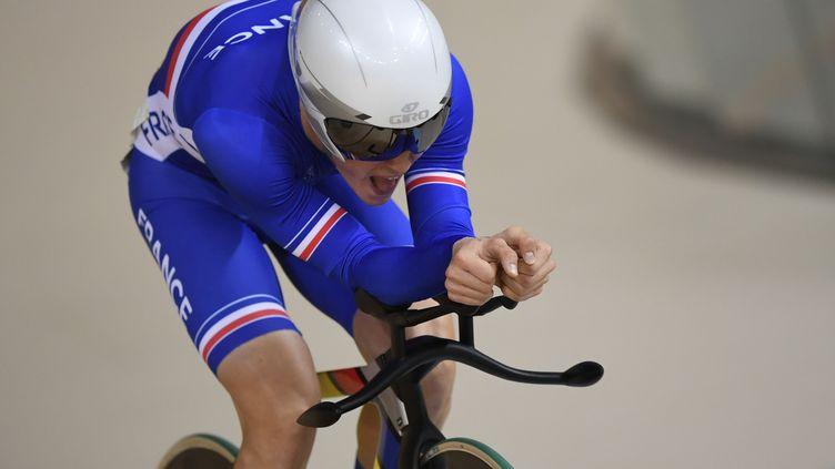Thomas Boudat vise la médaille d'or à Rio.