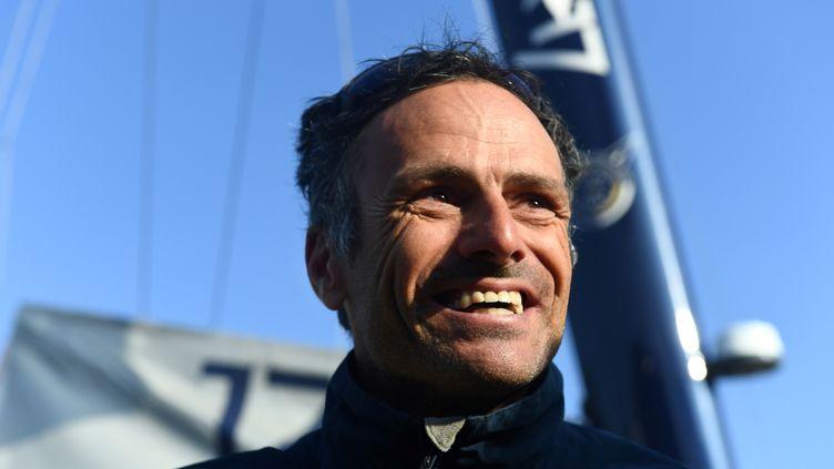 Le navigateur français Franck Cammas, désigné marin de la décennie (FRED TANNEAU / AFP)