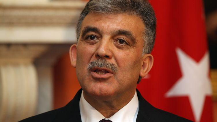 Le président turcAbdullah Gül à Londres (Royaume-Uni), le 22 novembre 2011. (DAN KITWOOD / GETTY IMAGES)