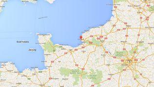 Un automobilisteest mort, le18 mai 2016, après un accident impliquant un poids-lourd à contresens sur larocade du Havre (Seine-Maritime). (GOOGLE MAPS)