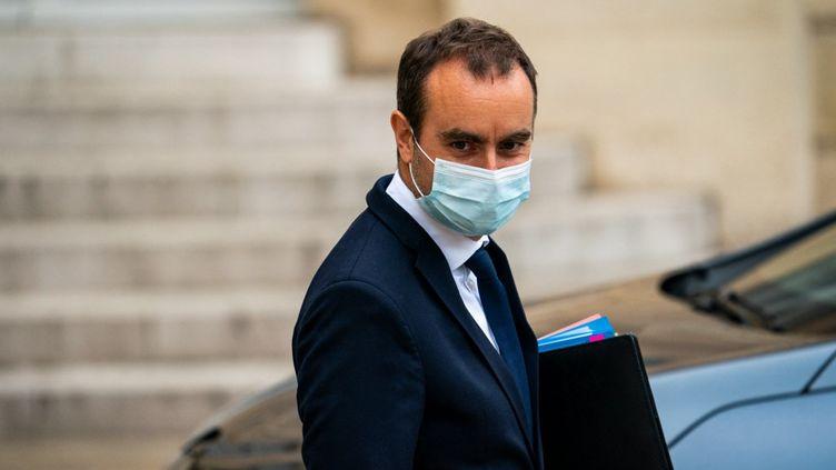 Le ministre des Outre-mer, Sébastien Lecornu, le 23 juin 2021 à Paris. (XOSE BOUZAS / HANS LUCAS / AFP)