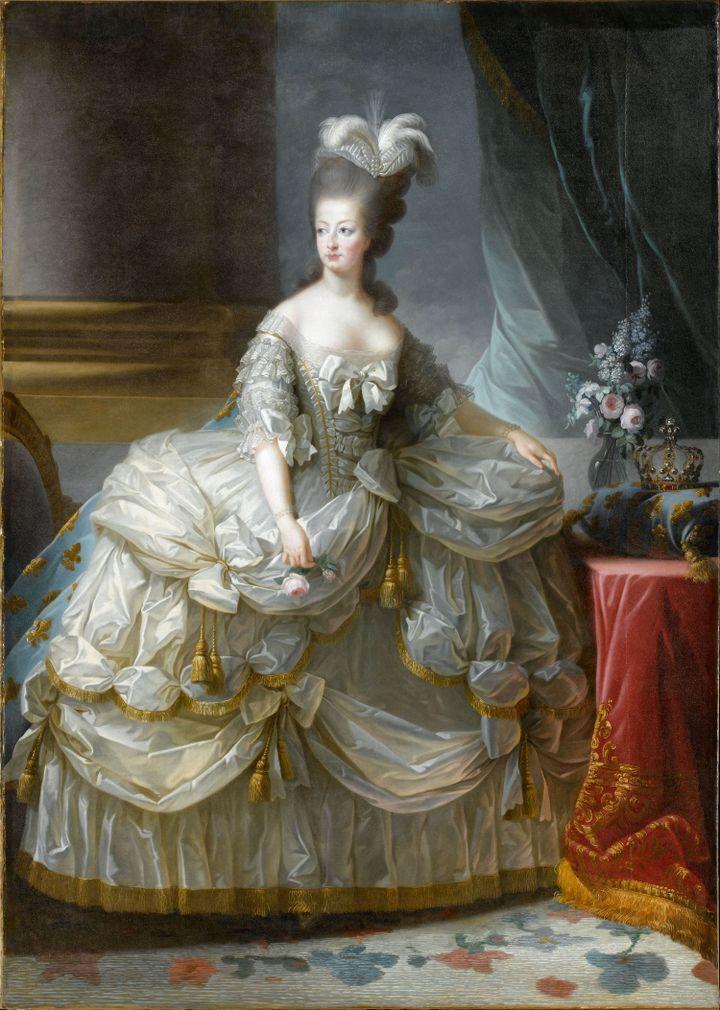 Anonyme, d'après Louise-Elisabeth Vigée Le Brun (1755-1842) XVIIIe siècle Huile sur toile Versailles, musée national des châteaux de Versailles et de Trianon Photo (RMN-Grand Palais (Château de Versailles) / Gérard Blot)