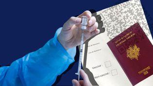 Le gouvernement a commencé à travailler sur le sujet du passeport vaccinal. (GERARD HOUIN / SADAK SOUICI / LE PICTORIUM / MAXPPP / STEPHANIE BERLU / RADIO FRANCE)