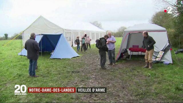 Notre-Dame-des-Landes : veillée d'arme