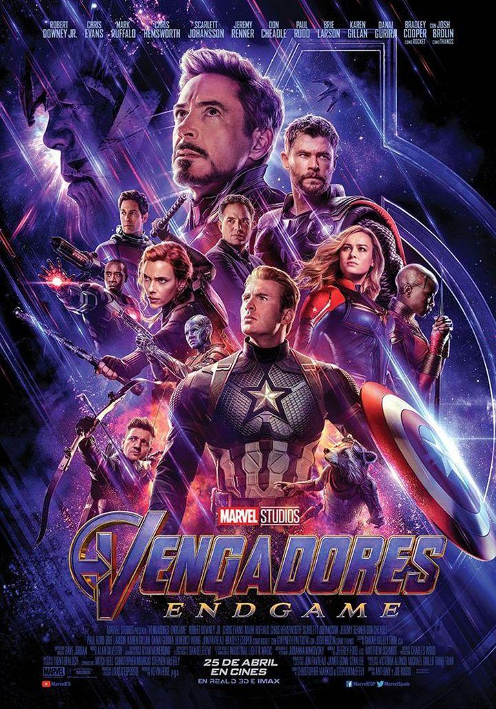 Avengers : Endgame : l'affiche (The Walt Disney Company France)