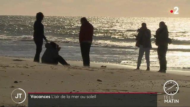 Gard: pour oublier le Covid-19, la mer au soleil au Grau-du-Roi
