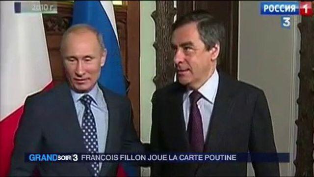 Fillon joue la carte Poutine