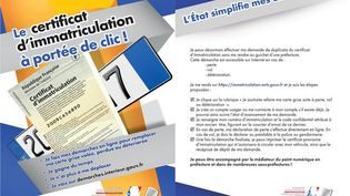 Toutes les démarches pour l'obtention de la carte grise en quelques clics. (interieur.gouv.fr)