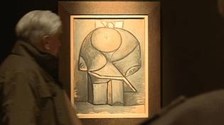 """Vente aux enchères à Drouot du tableau """"Enfant"""" par Picasso, 1947  (France 3 / Culturebox )"""