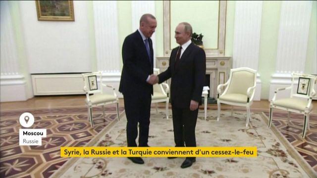 Syrie : cessez-le-feu entre la Russie et la Turquie