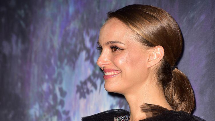 L'actrice Natalie Portman, à Los Angeles, le 13 février 2018. (FREDERIC J. BROWN / AFP)