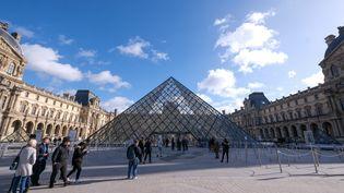 Musée du Louvre, 11 février 2020 (THIERRY THOREL / NURPHOTO)