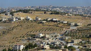 Le village d'llat Ali, en Cisjordanie, le 14 juin 2012. (RIEGER BERTRAND / HEMIS.FR / AFP)