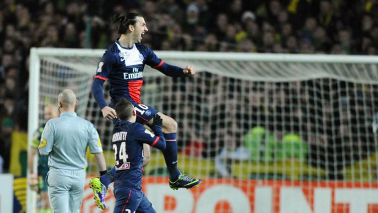 Zlatan Ibrahimovic (PSG) (JEAN-SEBASTIEN EVRARD / AFP)