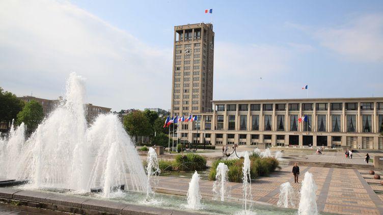 Le Havre (l'hôtel de ville) (OLIVIER BOITET / MAXPPP)