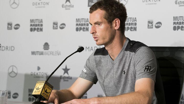 Le joueur écossais Andy Murray (OSCAR GONZALEZ / NURPHOTO)
