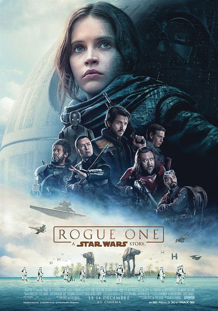 """Rogue One : A Star Wars Story"" : l'affiche française  (The Walt Disney Company France)"