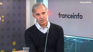 Paul Belmondo, invité du monde d'ElodieSuigo, sur franceinfo. (FRANCEINFO)