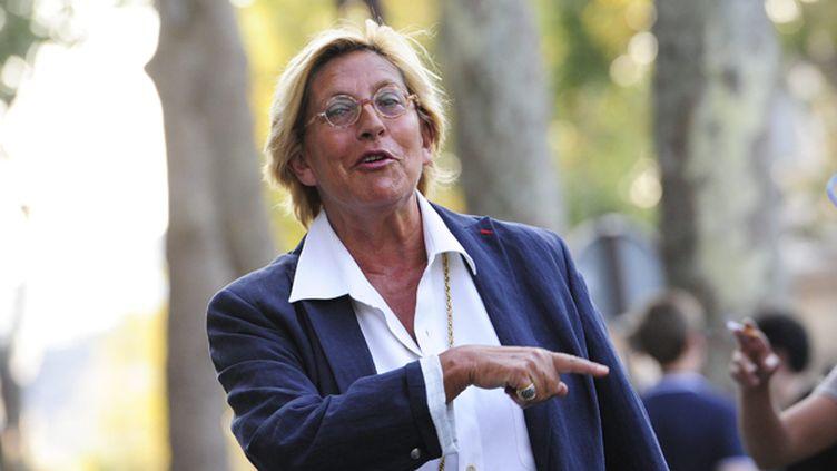 (Isabelle Balkany est mise en examen dans une affaire de blanchiment de fraude fiscale © maxppp)