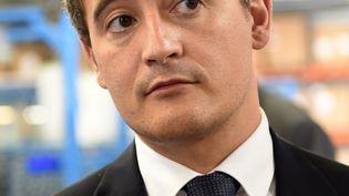 Le directeur de campagne de Nicolas Sarkozy pour la primaire àdroite, Gérald Darmanin, à Vendôme (Loir-et-Cher), le 8 septembre 2016. (GUILLAUME SOUVANT / AFP)