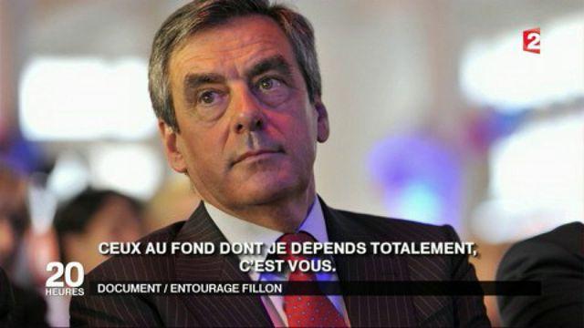 Réunion avec les députés de la droite et déclarations, une journée avec Fillon