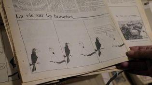 Envoyé spécial. Dessinateur de presse, rédacteur : quand Jean-Luc Mélenchon s'essayait aux métiers du journalisme (FRANCE 2 / FRANCETV INFO)