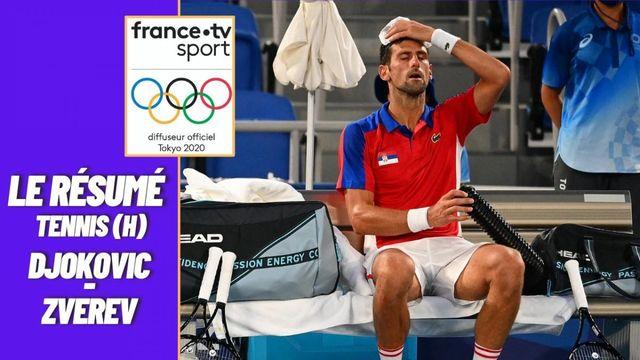 Tennis (H) : le résumé de Djokovic vs Zverev