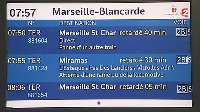SNCF : un nouveau mode d'indemnisation des usagers en cas de retard des TER en Paca