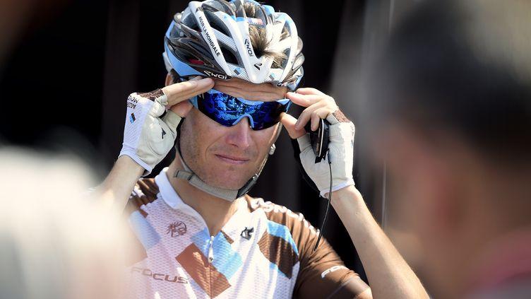 Johan Vansummeren, vainqueur de Paris-Roubaix 2011 (YORICK JANSENS / BELGA MAG)