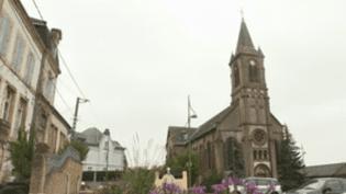 L'Église Saint-Jules de Logwy (Meurthe-et-Moselle) (CAPTURE ECRAN FRANCE 2)