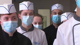 Hôtellerie-Restauration : des chefs étoilés au secours des apprentis (France 3)