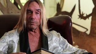 """Iggy Pop dans la vidéo d'appel au crowdfunding pour """"The Sandman"""" de Argento.  (Saisie écran)"""