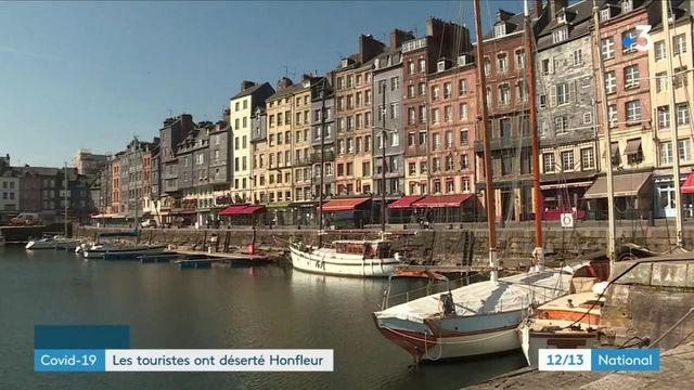 Reconfinement : les touristes ont déserté Honfleur