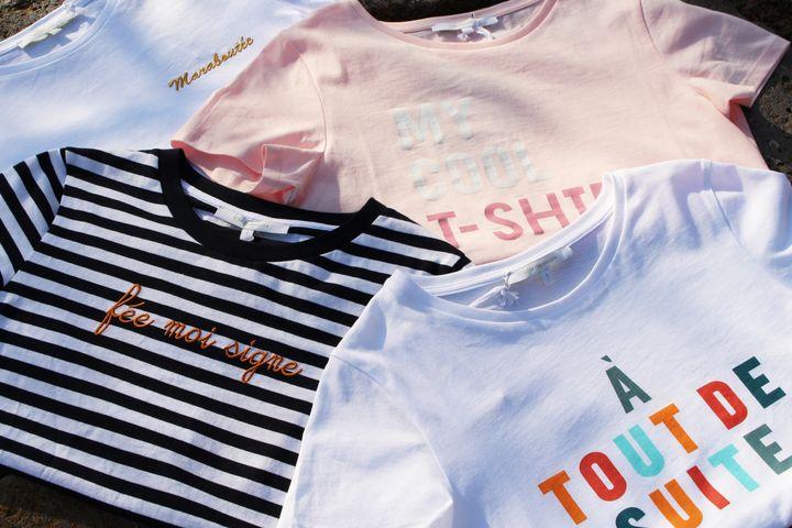 T.shirts à messages de la Fée Maraboutée pour l'été 2020 (La Fée Maraboutée)