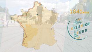 Le GreenNicoTour : un tour de France an courant pour sensibiliser au climat (France 3 Normandie)