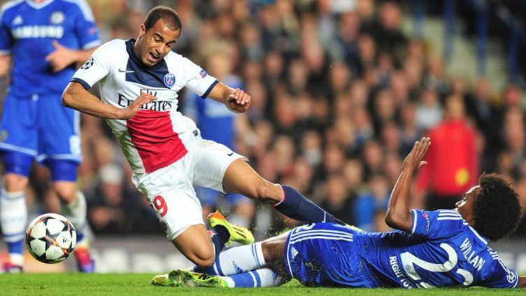 Lucas et le PSG étaient tombés contre Chelsea la saison dernière