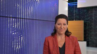 Agnès Buzyn, ministre des Solidarités et de la Santé. (JEAN-CHRISTOPHE BOURDILLAT / RADIO FRANCE)
