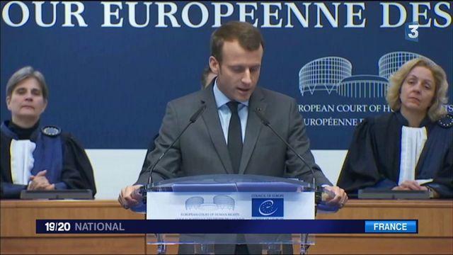 Loi antiterroriste : Macron assure que les libertés ne seront pas bafouées