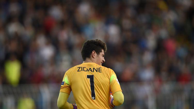 Luca Zidane. (DIMITAR DILKOFF / AFP)