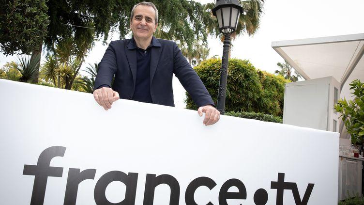 Le numéro 2 de France Télévisions, Takis Candilis, le 17 mai 2019 au Festival de Cannes. (MAXPPP)