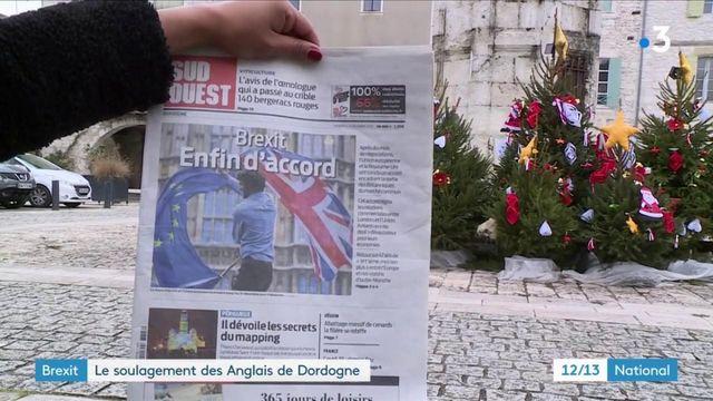 Brexit : l'accord soulage les Britanniques de Dordogne