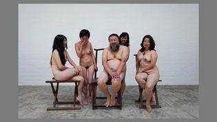 Photo à l'origine des poursuites pour pornographie dont l'artiste chinois Ai Weiwei a été victime  (Courtesy of Ai Weiwei / AFP)