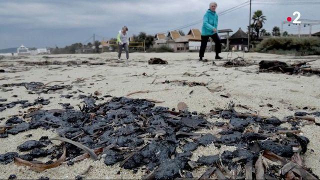 Var : des plages souillées par le fioul